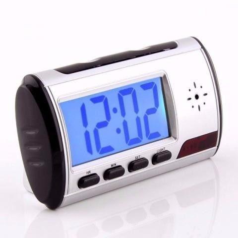 Relógio com Câmera, Gravador de Voz, Sensor de Movimento, HD