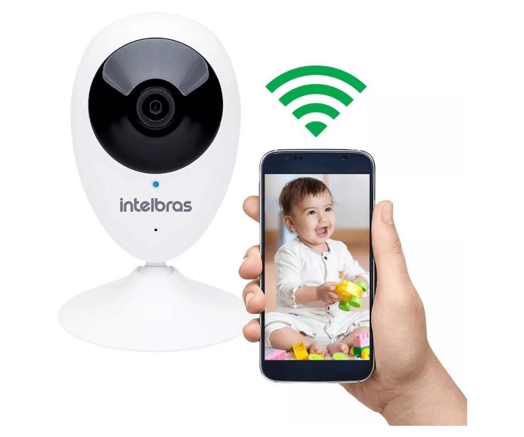 CAMERA DE SEGURANCA Wi-Fi HD IC3 INTELBRAS
